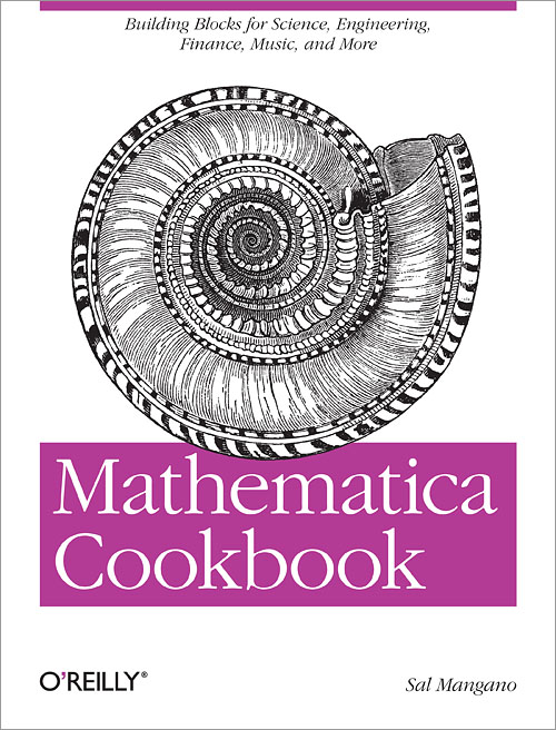 Mathematica Cookbook Cover