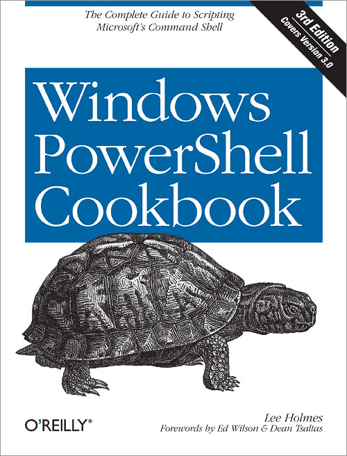 Cover for Windows PowerShell Cookbook