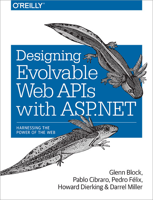 Cover for Designing Evolvable Web APIs with ASP.NET
