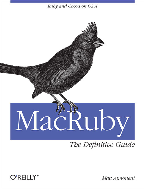 Cover for MacRuby: The Definitive Guide