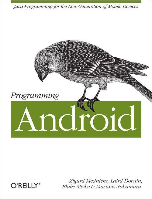 Cover for Programming Android